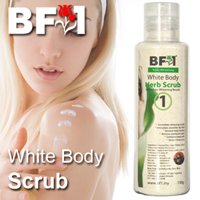 White Body Scrub - 150g